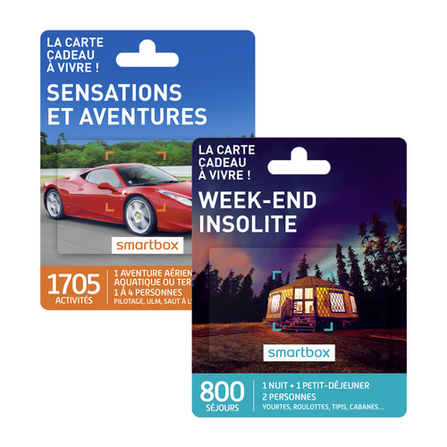 Les Cartes Smartbox