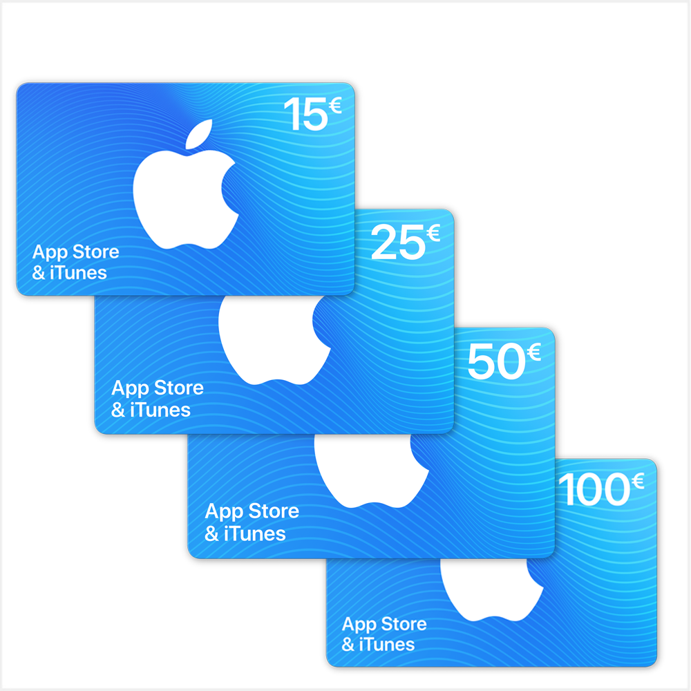 Les Cartes iTunes